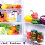 冬期間の冷蔵庫